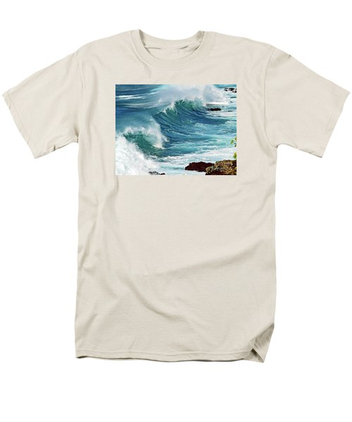 Ocean Majesty Men's T-Shirt  (Regular Fit) by Patricia Griffin Brett