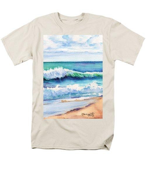 Ocean Waves Of Kauai I Men's T-Shirt  (Regular Fit) by Marionette Taboniar