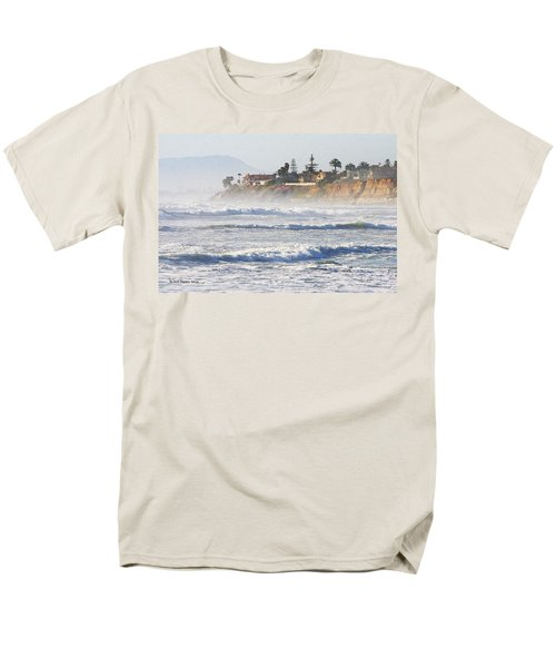 Men's T-Shirt  (Regular Fit) featuring the photograph Oceanside California by Tom Janca