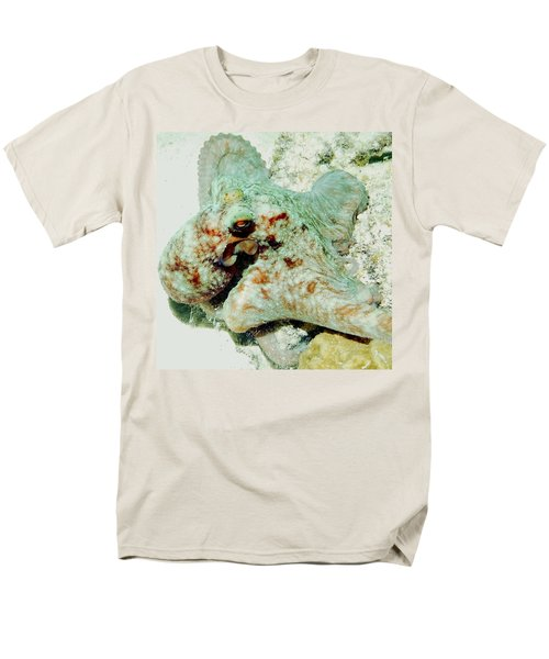 Octopus On The Reef Men's T-Shirt  (Regular Fit) by Amy McDaniel