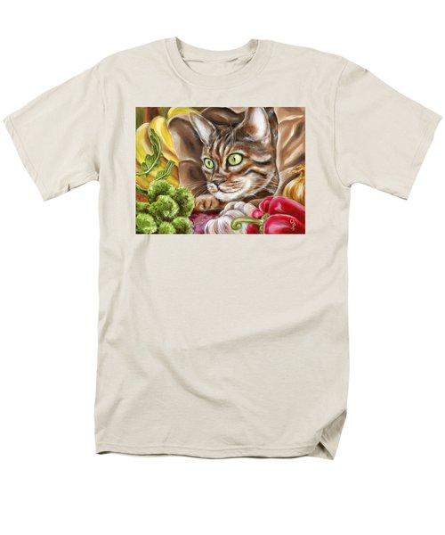 Men's T-Shirt  (Regular Fit) featuring the painting Ok Now What by Hiroko Sakai