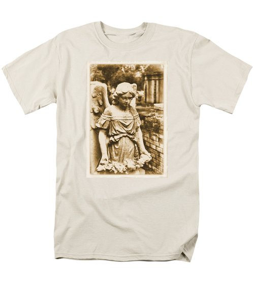 Men's T-Shirt  (Regular Fit) featuring the photograph Blessed Angel   by Nadalyn Larsen