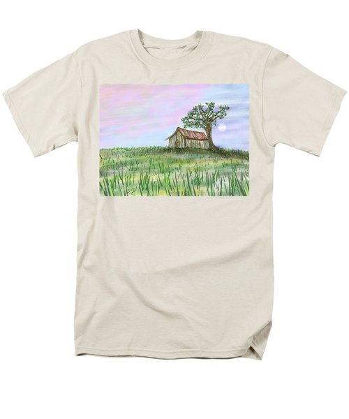 Old Barn Men's T-Shirt  (Regular Fit) by Stacy C Bottoms