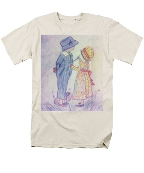 Old Fashioned Romance Men's T-Shirt  (Regular Fit) by Christy Saunders Church