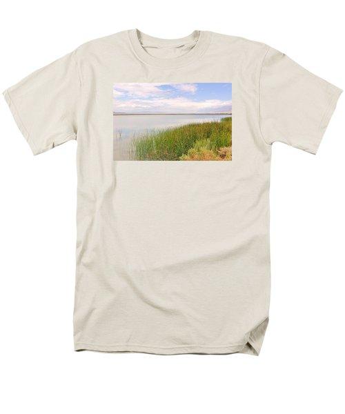 On Shore Men's T-Shirt  (Regular Fit) by Marilyn Diaz