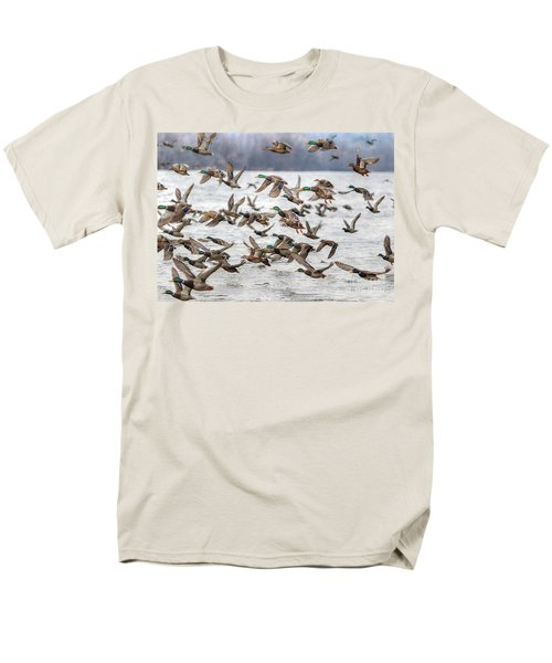 Men's T-Shirt  (Regular Fit) featuring the photograph One Direction One by Robert Pearson