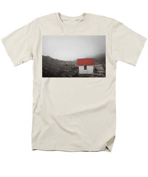 Men's T-Shirt  (Regular Fit) featuring the photograph One Room In A Fog by Ellen Cotton