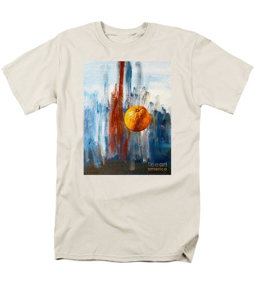 Orange Men's T-Shirt  (Regular Fit) by Arturas Slapsys