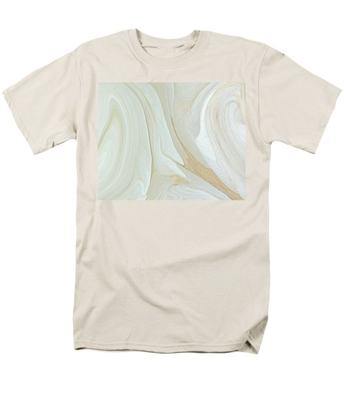 Orchids In Snow  C2014 Men's T-Shirt  (Regular Fit) by Paul Ashby