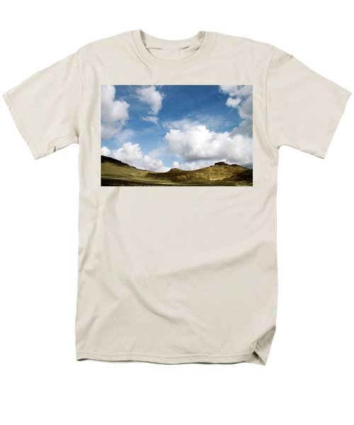 Oregon Trail Country Men's T-Shirt  (Regular Fit) by Ed  Riche