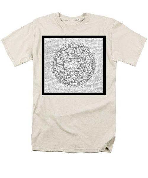 Oreo In Grey Men's T-Shirt  (Regular Fit) by Rob Hans