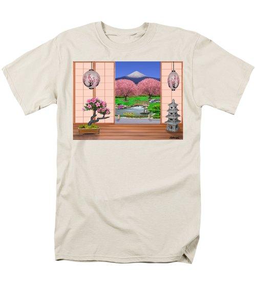 Oriental Splendor Men's T-Shirt  (Regular Fit) by Glenn Holbrook