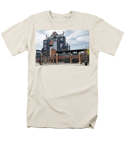 Oriole Park At Camden Yards Men's T-Shirt  (Regular Fit) by Susan Candelario