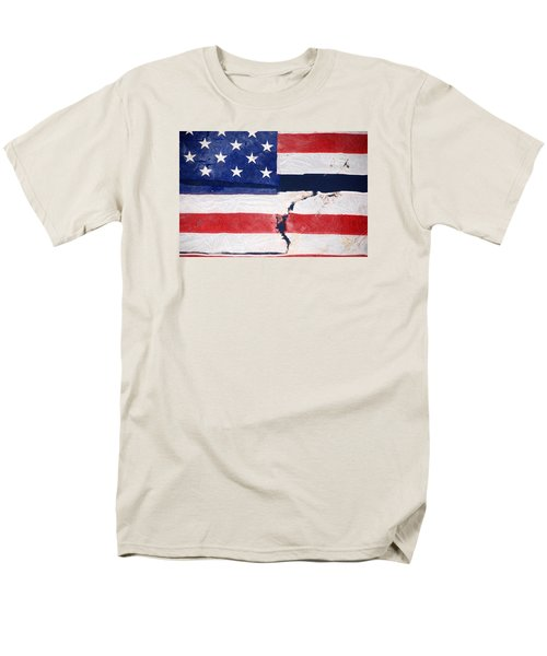 Men's T-Shirt  (Regular Fit) featuring the photograph Out Of The Rubble  September 11 2001 by John Schneider