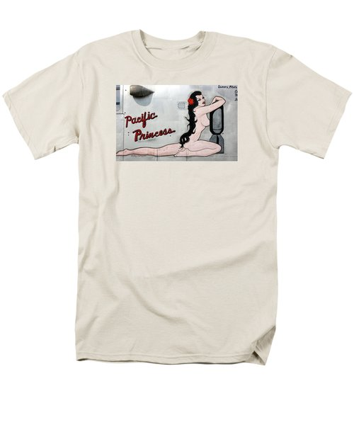 Men's T-Shirt  (Regular Fit) featuring the photograph Pacific Princess by Kathy Barney