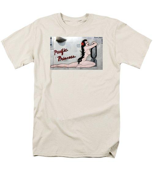 Pacific Princess Men's T-Shirt  (Regular Fit) by Kathy Barney