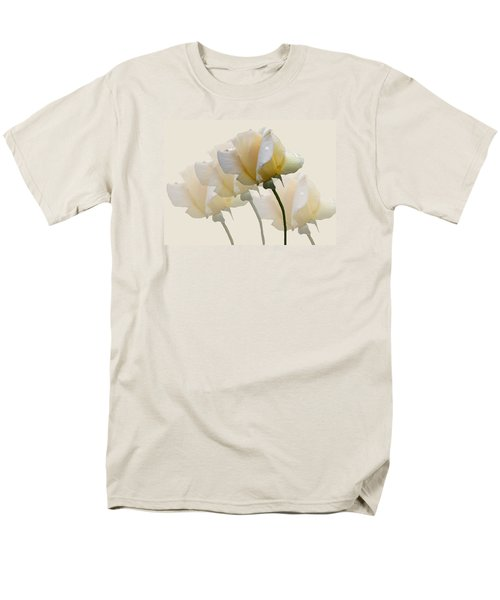 Pale Yellow Men's T-Shirt  (Regular Fit) by Rosalie Scanlon
