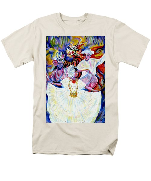 Panama Carnival. Fiesta Men's T-Shirt  (Regular Fit) by Anna  Duyunova