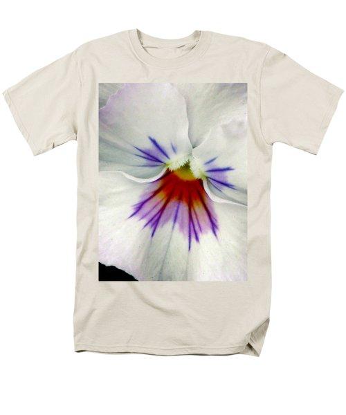 Pansy Flower 11 Men's T-Shirt  (Regular Fit) by Pamela Critchlow