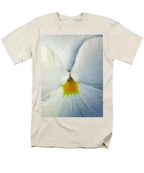 Pansy Flower 19 Men's T-Shirt  (Regular Fit) by Pamela Critchlow