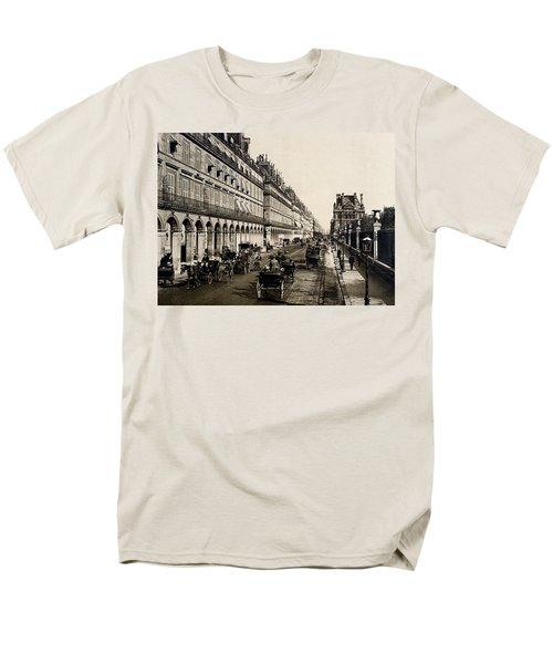 Paris 1900 Rue De Rivoli Men's T-Shirt  (Regular Fit) by Ira Shander