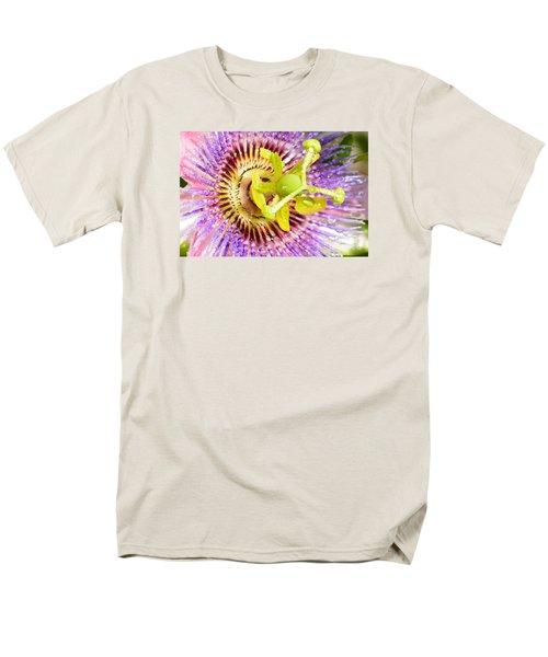 Passiflora The Passion Flower Men's T-Shirt  (Regular Fit) by Olga Hamilton