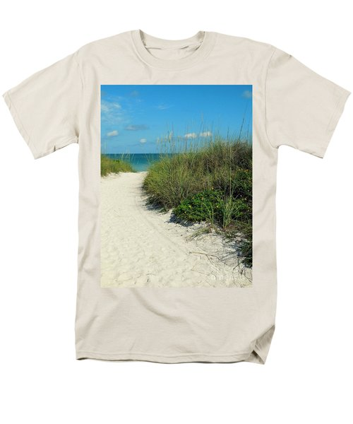 Path To Pass -a- Grille Men's T-Shirt  (Regular Fit) by Valerie Reeves