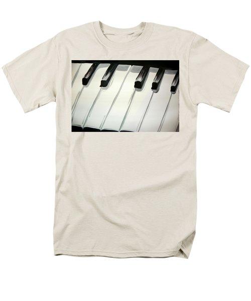 Piano Keys Men's T-Shirt  (Regular Fit) by Marisela Mungia