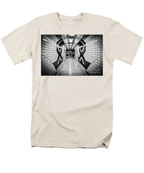 Piccadilly Circus Subway Men's T-Shirt  (Regular Fit) by Lana Enderle