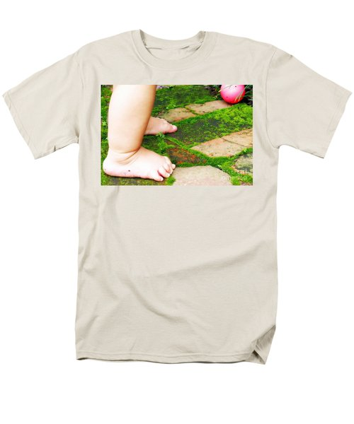Pink Ball Men's T-Shirt  (Regular Fit) by Valerie Reeves