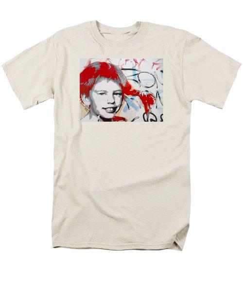 Pippi Longstocking  Men's T-Shirt  (Regular Fit) by Juergen Weiss