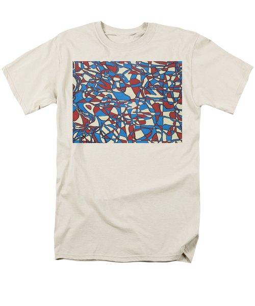 Planet Abstract Men's T-Shirt  (Regular Fit) by Jonathon Hansen