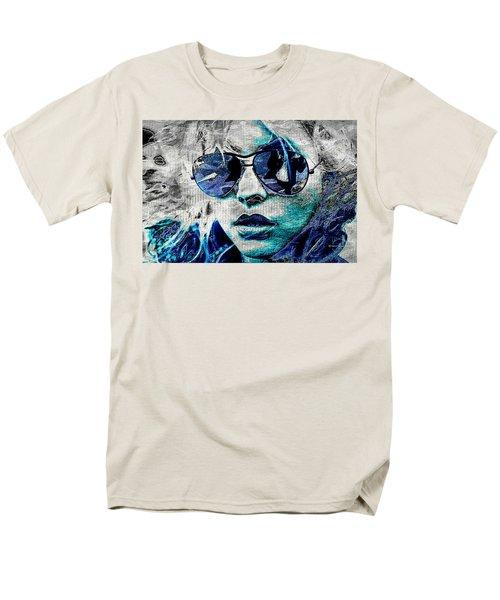 Platinum Blondie Men's T-Shirt  (Regular Fit) by Absinthe Art By Michelle LeAnn Scott