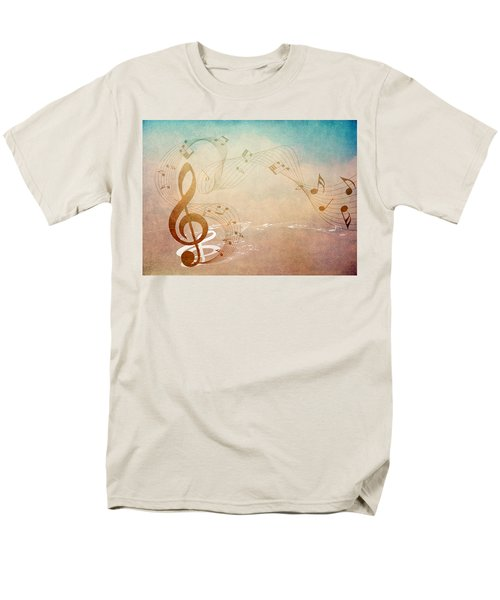 Please Dont Stop The Music Men's T-Shirt  (Regular Fit) by Angelina Vick