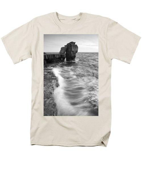 Portland Bill Seascape Men's T-Shirt  (Regular Fit) by Ian Middleton