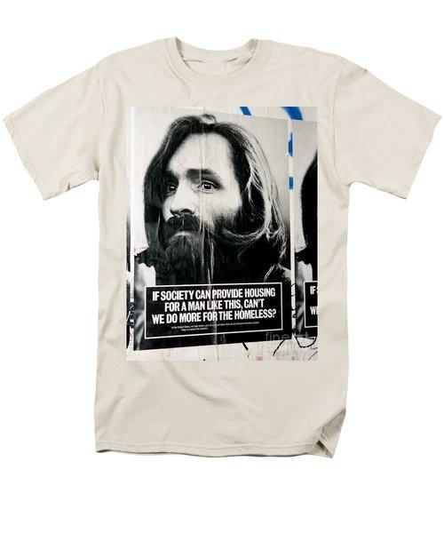 Poster Boy Charlie Men's T-Shirt  (Regular Fit) by Ed Weidman