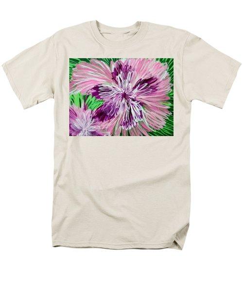 Psychedelic Flower Men's T-Shirt  (Regular Fit)