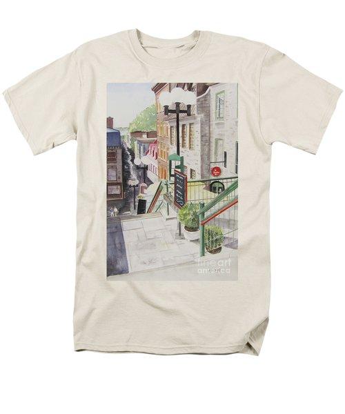 Quebec City Men's T-Shirt  (Regular Fit)