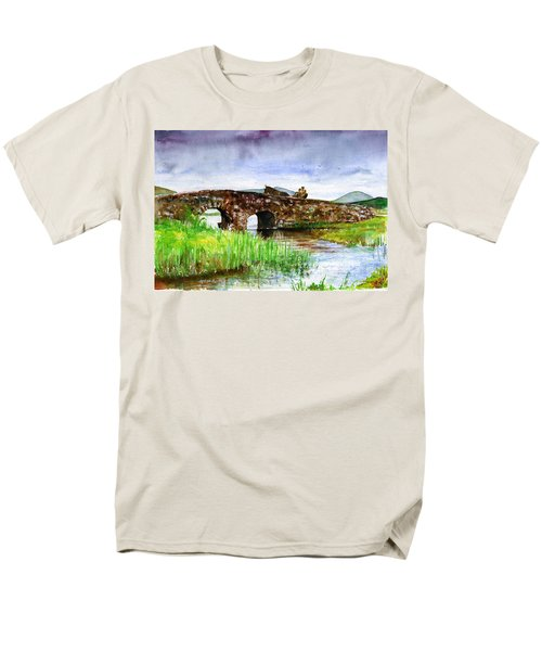 Quiet Man Bridge Ireland Men's T-Shirt  (Regular Fit) by John D Benson