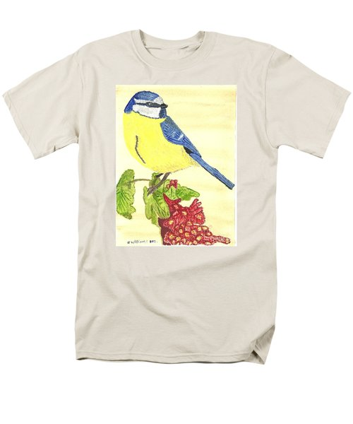 Men's T-Shirt  (Regular Fit) featuring the painting Quietly Watching by Tracey Williams