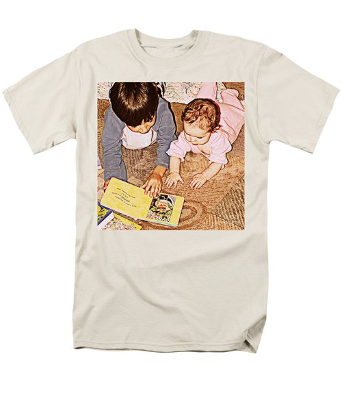 Story Time Men's T-Shirt  (Regular Fit) by Valerie Reeves