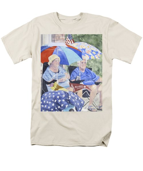 Ready For The Millbury Parade Men's T-Shirt  (Regular Fit) by Carol Flagg