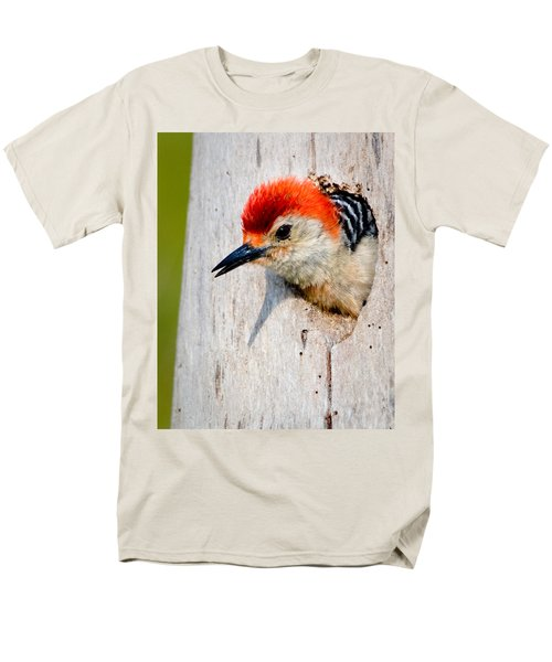 Red-bellied Woodpecker II Men's T-Shirt  (Regular Fit) by William Beuther