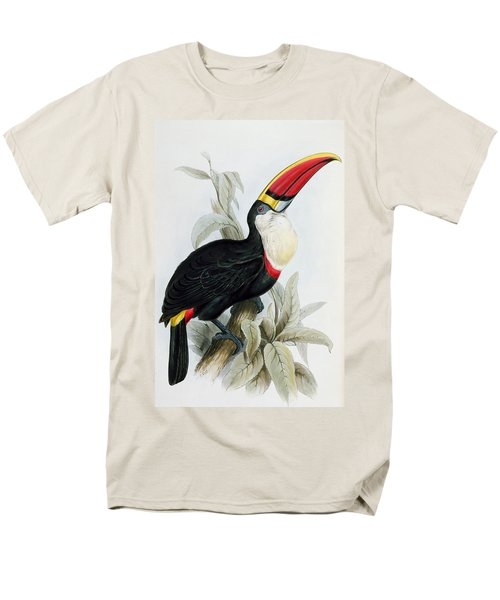 Red-billed Toucan Men's T-Shirt  (Regular Fit) by Edward Lear