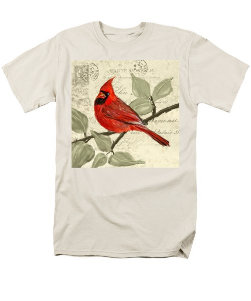 Red Melody Men's T-Shirt  (Regular Fit) by Lourry Legarde