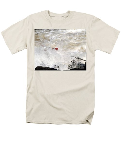 Men's T-Shirt  (Regular Fit) featuring the photograph Red Paddle by Carol Lynn Coronios
