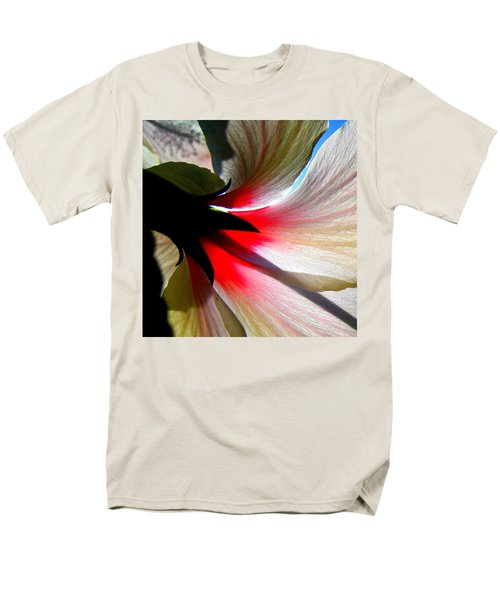Red White N Black Men's T-Shirt  (Regular Fit) by John King