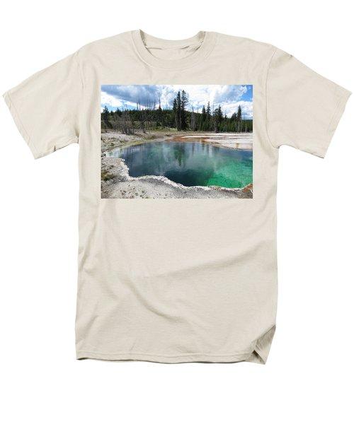 Reflection Men's T-Shirt  (Regular Fit) by Laurel Powell