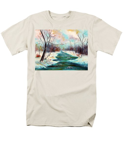 Reflections Of Worship Men's T-Shirt  (Regular Fit) by Meaghan Troup