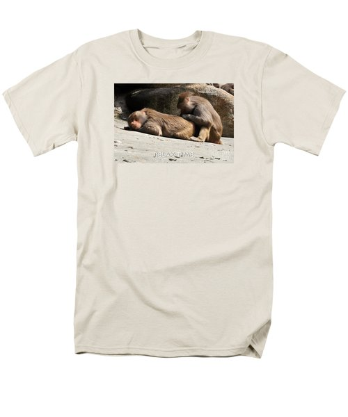 Relax Time Men's T-Shirt  (Regular Fit) by Simona Ghidini